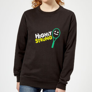 Highly Strung Women's Sweatshirt - Black