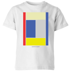 Center Court Kids' T-Shirt - White