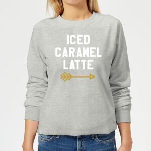 Iced Caramel Latte Women's Sweatshirt - Grey