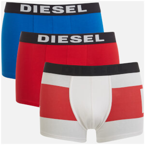 Diesel Men's Damien 3 Pack Boxer Shorts - Multi
