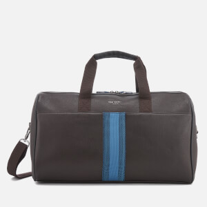 Ted Baker Men's Sanchez Webbing Holdall Bag - Chocolate