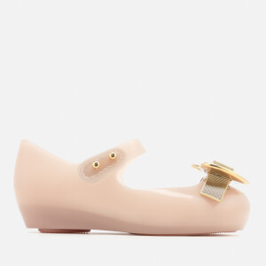Mini Melissa Vivienne Westwood Toddlers Ultragirl 19 Ballet Flats - Nude Heart