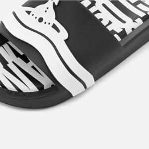 Vivienne Westwood for Melissa Women's Beach Slide Sandals - Black Contrast: Image 6