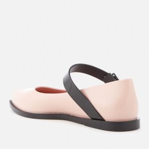 Melissa Women's Mary Jane Flat Shoes - Blush Contrast: Image 4