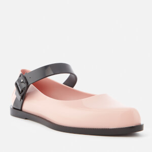 Melissa Women's Mary Jane Flat Shoes - Blush Contrast: Image 2