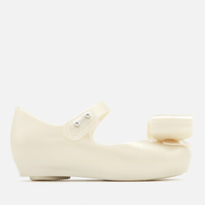 Mini Melissa Toddlers Ultragirl Bow 19 Ballet Flats - Pearl