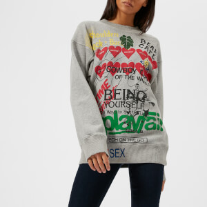 Vivienne Westwood Anglomania Women's Square Sweatshirt - Grey