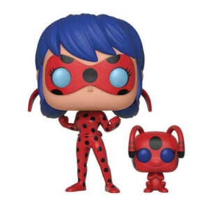 Miraculous Ladybug with Tikki Buddy Funko Pop! Figuur