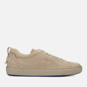 Buscemi Men's Lyndon Nubuck Trainers - Fog
