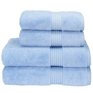 Christy Supreme Hygro Towel Range - Sky
