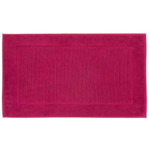 Christy Supreme Hygro Bath Mat - Set of 2 - Raspberry