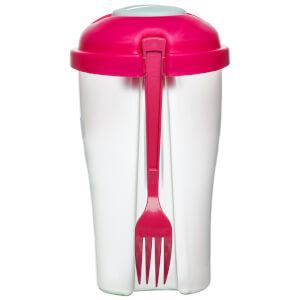 Sagaform To Go Salad Pink