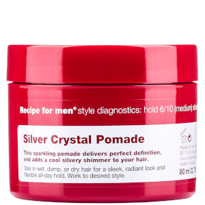 Recipe for Men Silver Crystal Pomade -muotoiluvoide 80ml