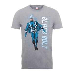 T-Shirt Homme - Éclair Noir - Marvel Comics - Gris