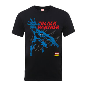 Marvel Comics The Black Panther Heren T-shirt - Zwart