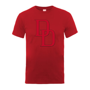 Marvel Comics Daredevil Logo Men's Red T-Shirt