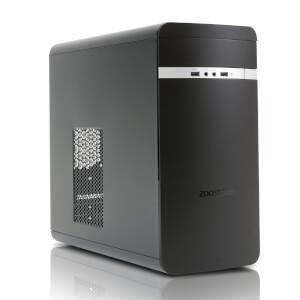 Zoostorm Evolve Desktop PC (Windows 10 Home, Intel Core i5-7400, 16GB RAM, 2TB HDD) - Black