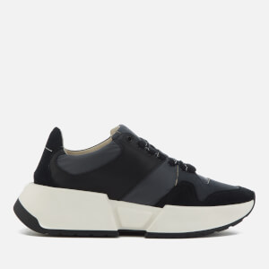 MM6 Maison Margiela Women's Trainers - Grey/Navy/Black