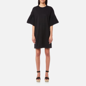 See By Chloé Women's Frilly Jersey Dress - Black
