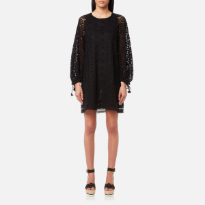 See By Chloé Women's Ornament Lace Dress - Black