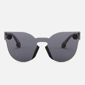 Christopher Kane Women's Cat Eye Sunglasses - Grey
