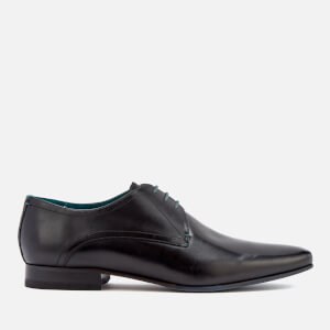 Ted Baker Men's Bhartli Leater Derby Shoes - Black