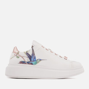 Ted Baker Women's Ailbe Leather Platform Trainers - Highgrove Hummingbird