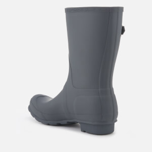 Hunter Women's Original Short Wellies - Dark Slate: Image 3