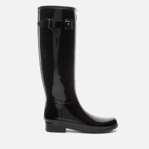 Hunter Women's Original Refined Gloss Wellies - Black