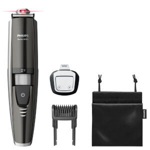 Philips Series 9000 Laser Guided Beard Trimmer for Precise Symmetrical Beards BT9297/13