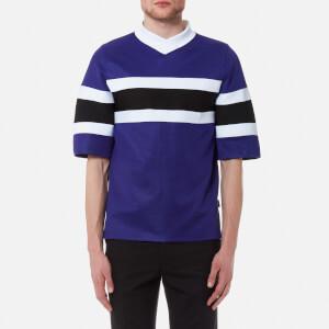 AMI Men's Bi Colour Sport T-Shirt - Purple