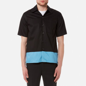 AMI Men's Block Colour Shirt - Black/Blue