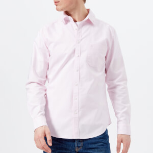 Joules Men's Laundered Oxford Long Sleeve Shirt - Washed Pink