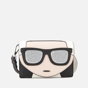Karl Lagerfeld Women's K/Ikonik Mini Cross Body Bag - Black