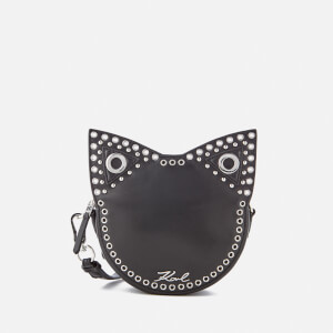 Karl Lagerfeld Women's K/Rocky Choupette Cross Body Bag - Black