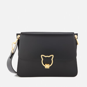 Karl Lagerfeld Women's K/Kat Lock Shoulder Bag - Black
