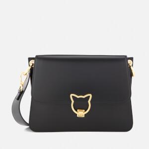 Karl Lagerfeld Women's K/Kat Lock Shoulder Bag - Black