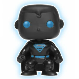DC Justice League Superman Glow in the Dark Silhouette EXC Funko Pop! Vinyl