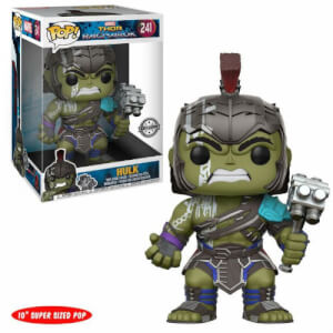 Figurine Pop! Hulk Gladiateur EXC Bobble Head 25 cm - Thor Ragnarok