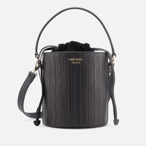 meli melo Women's Santina Mini Woven Bag - Black