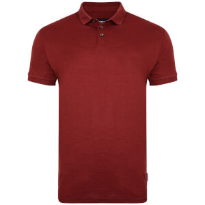 D-Struct Men's Slub Polo Shirt - Port
