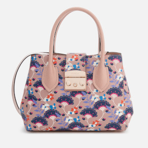 Furla Women's Metropolis Small Tote Bag - Printed