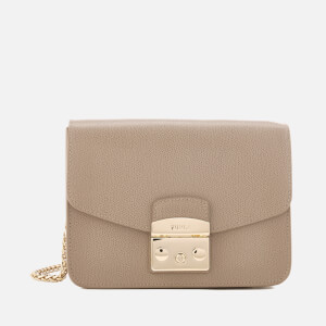 Furla Women's Metropolis Small Cross Body Bag - Cream