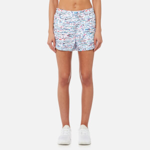 Lucas Hugh Women's Glitch Shorts - Glitch Print