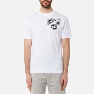 McQ Alexander McQueen Men's Dropped Shoulder Swallow T-Shirt - Optic White