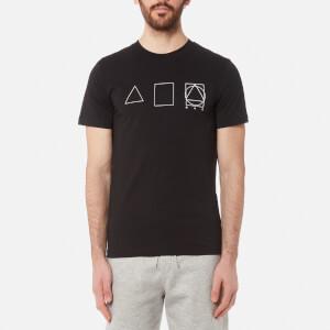 McQ Alexander McQueen Men's Crew Neck 3 Logo T-Shirt - Darkest Black
