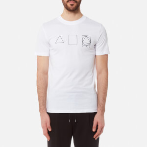 McQ Alexander McQueen Men's Crew Neck 3 Logo T-Shirt - Optic White