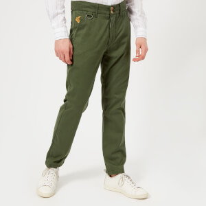 Vivienne Westwood Anglomania Men's Classic Chinos - Dark Green