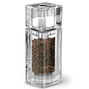 Cole and Mason Precision Cube Combi Pepper Mill with Salt Shaker