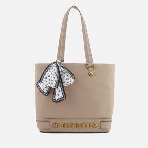 Love Moschino Women's Shopper Bag - Taupe